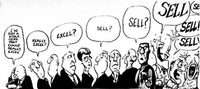 stock market cartoon top