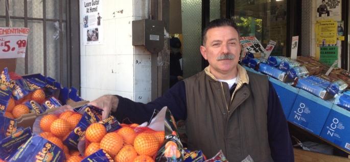 Taki Mastakouris at Mani Market